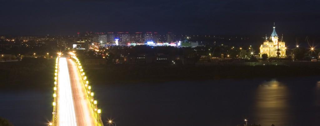 Beautiful night Nizhny Novgorod